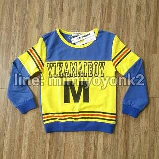yikamaiboy Long Shirt Size 100/18m