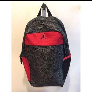 NIKE Air Jordan Jumpman Daybreaker Bag 男女生 復古 時尚 黑紅 爆裂紋 AJ 3造型 運動 後背包 肩背包 電腦包 筆電包 書包 美式 登山 健身房 訓練包 旅遊包 行李包 NBA