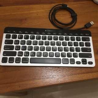 羅技k811藍牙鍵盤 Window OS X 可用