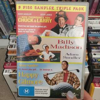 Adam Sandler Movie Pack