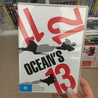 Ocean's Movie Set