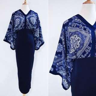 NSA Paisley Printed Kimono Maxi