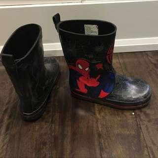 Boys Spider-Man Rain Boots