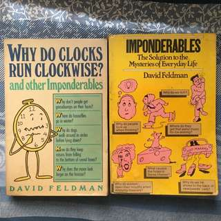 Combo: Books of Imponderables