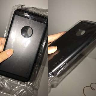 Casing iPhone 6/s plus SPIGEN HITAM