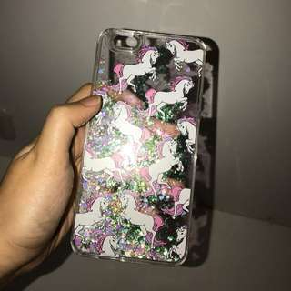 Casing IPhone 6/s Plus - Glitter Unicorn