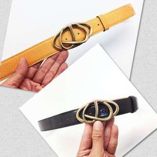 f56b983d490 Custom Made Lizard Skin Belt Strap + Authentic Tods Belt Set