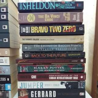 Books for RM2 (Lot 2)
