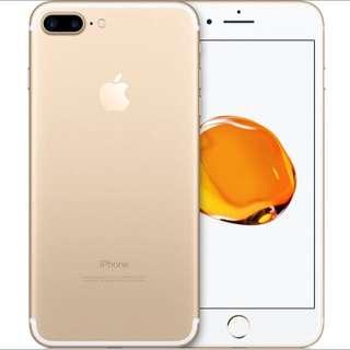 Gold iPhone 7 Plus (32GB)