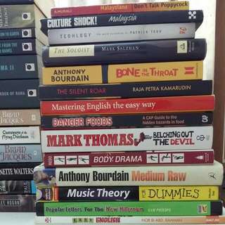 Books for RM2 (Lot 3)