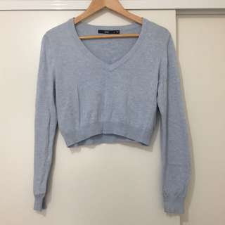 Sports girl Cropped Knit
