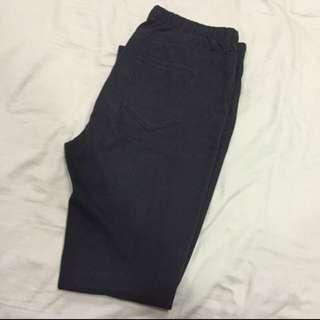 uniqlo 彈性 內搭 黑褲尺寸L