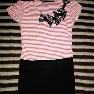 Stripe Mini Dress