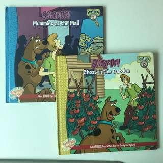 scooby doo story books