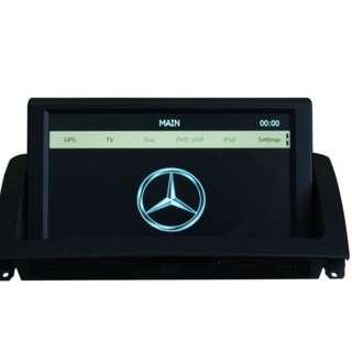 Head Unit Gps Mercedes Benz W204 Bonus Kamera Mundur