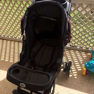 Jolly Jumper 4-Wheel Stroller