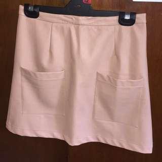 Pink Minkpink High Waist Skirt