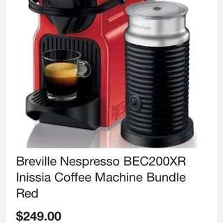Nespresso Inissia And Aeroccino