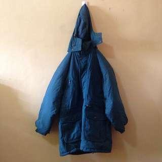 Blue Green winter coat