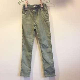 💋東京著衣💋直條紋彈性修身長褲
