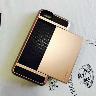 iPhone Case 6/6s Rose Gold With Card Holder