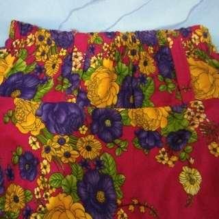 Flower Skirt Pink