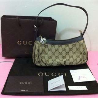 Further Reduction RM460.00 💯Authentic Gucci Small Shoulder Bag