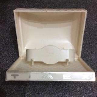 TIMEX WATCH BOX PLASTIC