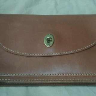 Reduce Fossil Full Leather Shoulder Bag