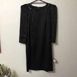 Cue Long Sleeve Dress Size 10