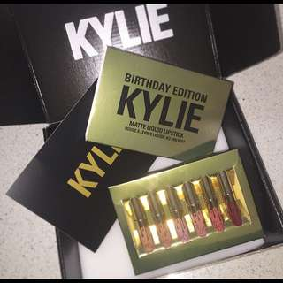 Kylie Cosmetics Authentic Limited Birthday Edition Mini Mattes