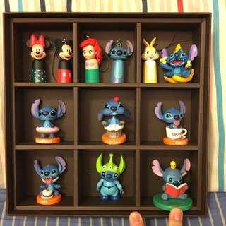 全新迪士尼史迪奇三眼怪小美人魚公仔