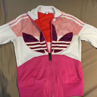 free post ! adidas wind cheater / jumper size 8