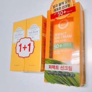 韓國防曬乳