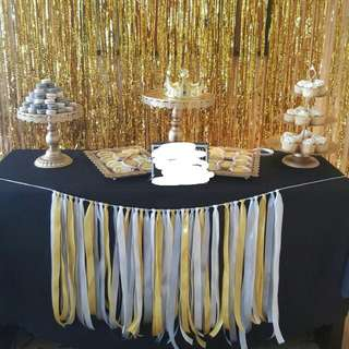 GOLD CAKE STANDS FOR RENT