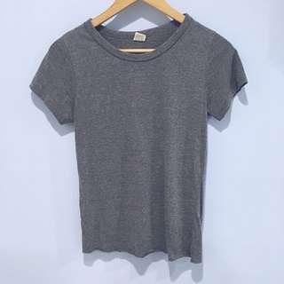 韓國🇰🇷基本款灰色短袖T-Shirt