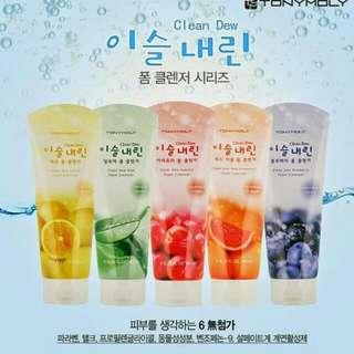 ✨韓國帶回✈TONYMOLY水果洗面乳💆