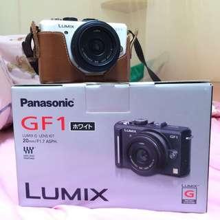 Panasonic GF1 女朋友一代 日文介面 類單眼 單眼 數位相機 白色