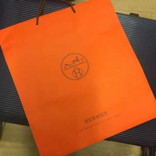 Hermes Paper Bag (super Big Size)