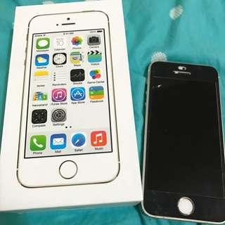 Iphone5s 32g (4g)金色