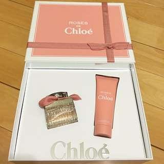 Chloe 玫瑰女性淡香水禮盒組(購於新加坡樟宜機場)