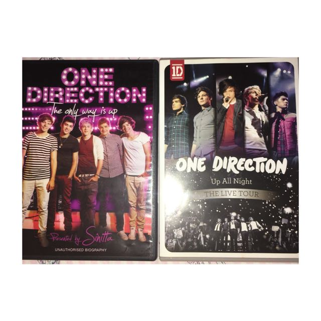 2 One Direction DVDs