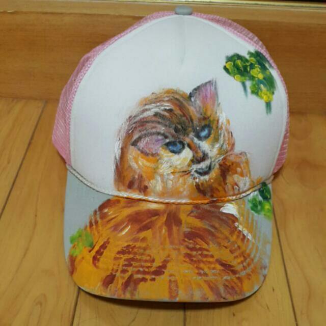 貓咪棒球網帽