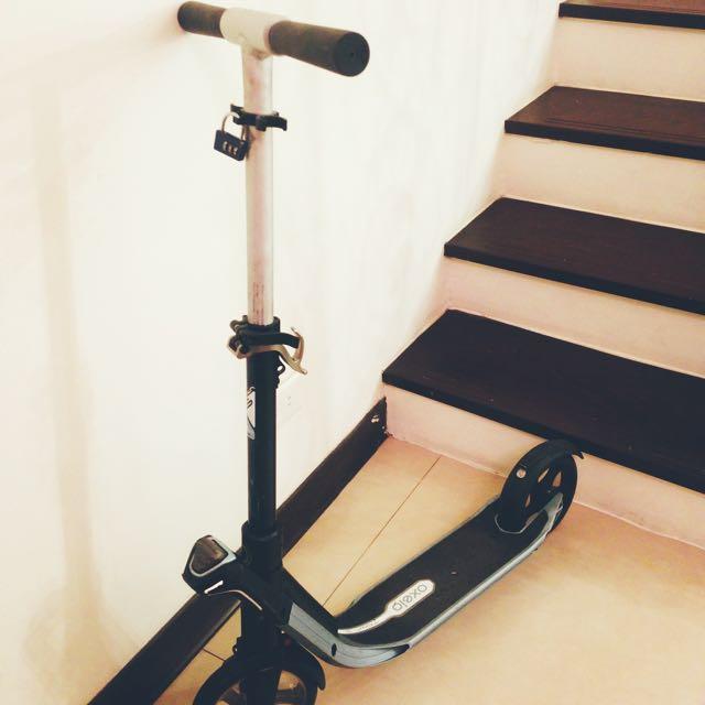 迪卡儂 Oxelo 7FF滑板車 一秒折疊