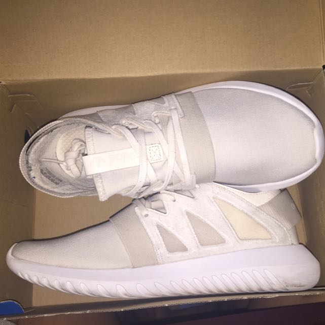 Adidas Tubular Viral Cream/White