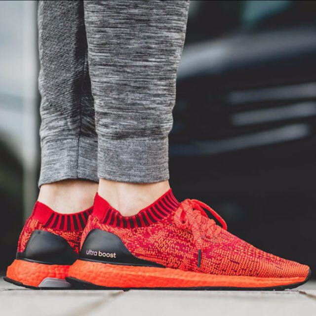f0f31b07784 Adidas Ultra Boost Uncaged Scarlet Red
