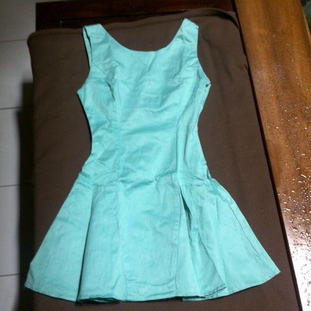 Backless Tosca Mini Dress