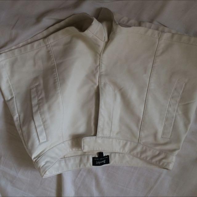 Bardot Leather Shorts Size 8
