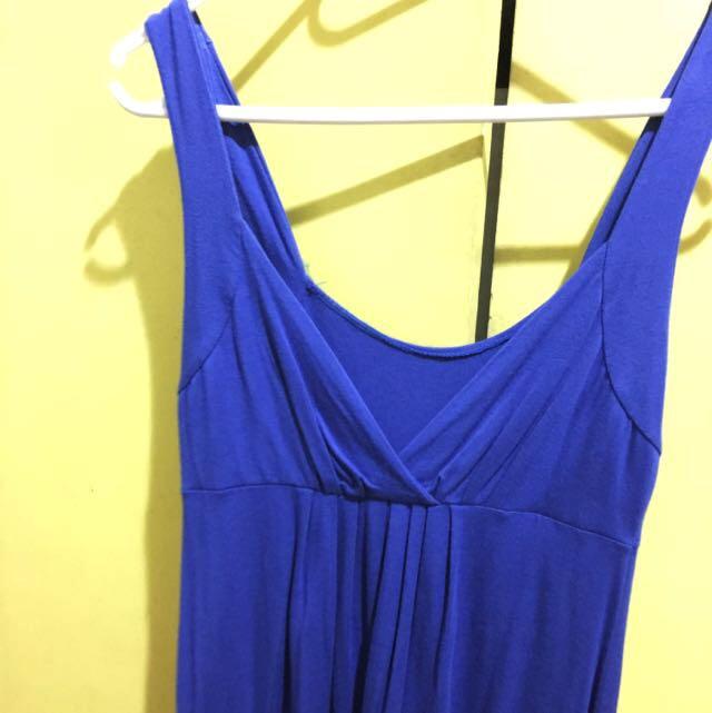 BAZAAR FIND Dressy Blue Top