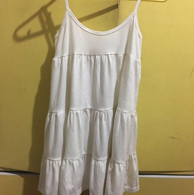 BAZAAR FIND White Beach Dress
